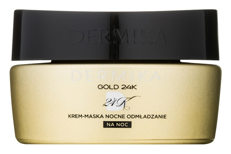 Dermika Gold 24k Total Benefit Night Cream-Mask with Regenerative Effect