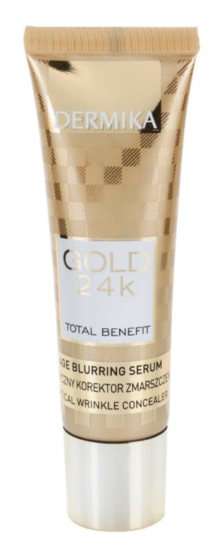 Dermika Gold 24k Total Benefit sérum rajeunissant anti-signes de vieillissement