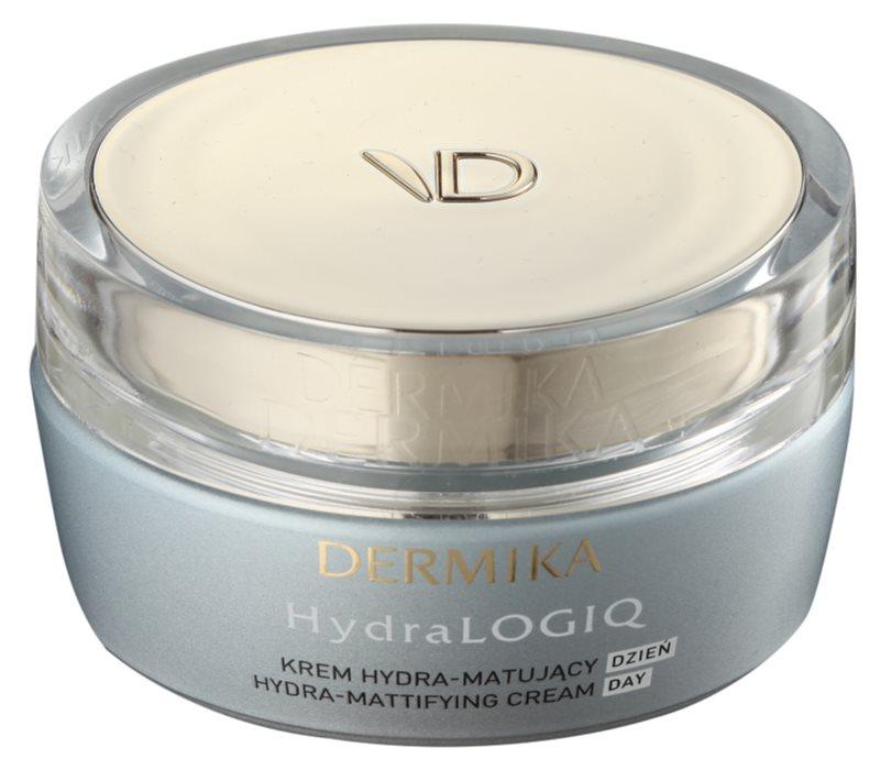 Dermika HydraLOGIQ hydratačný zmatňujúci krém pre normálnu až zmiešanú pleť