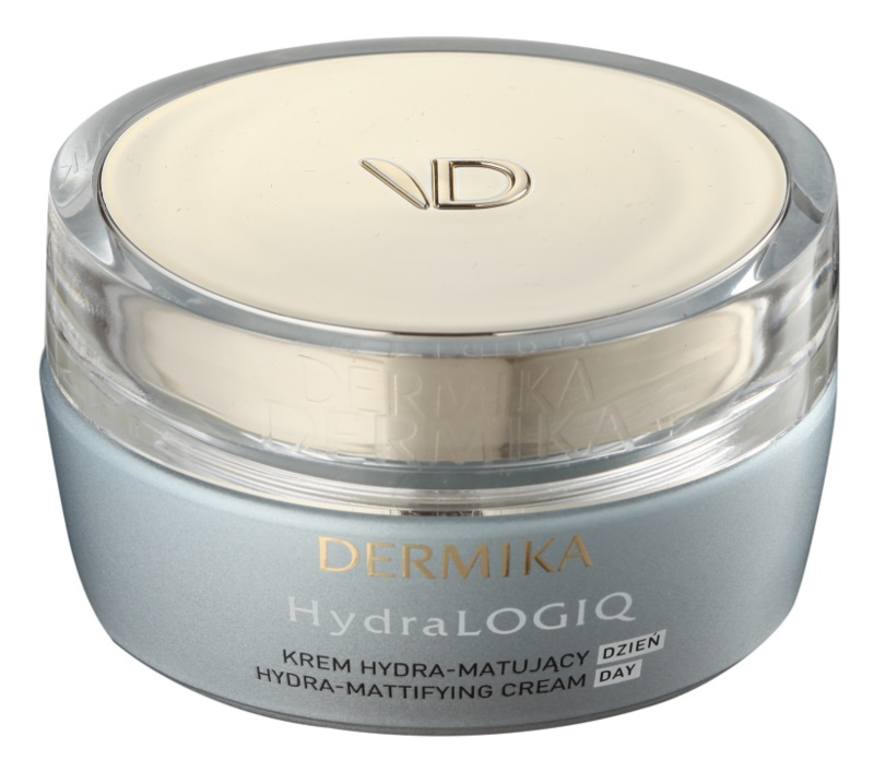 Dermika HydraLOGIQ Hydraterende Matt Crème  voor Normale tot Gemengde Huid