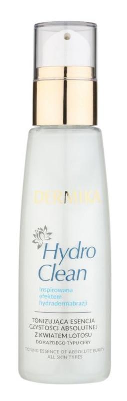 Dermika HydroClean tonifiant pentru corp cu efect de strălucire