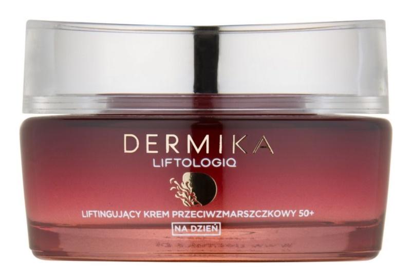 Dermika Liftologiq crema de zi pentru lifting 50+