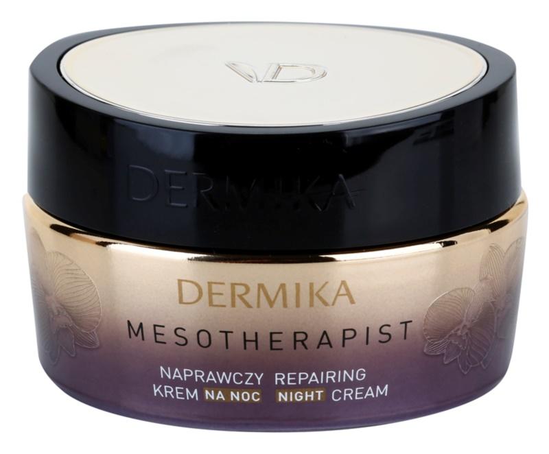 Dermika Mesotherapist crème de nuit rénovatrice pour peaux matures