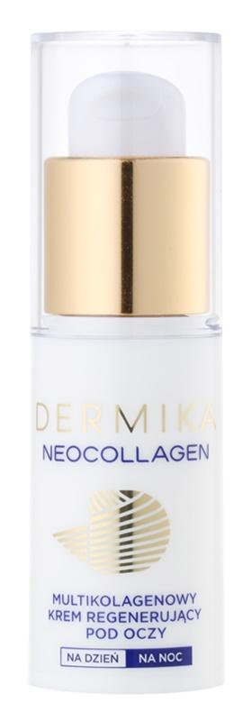 Dermika Neocollagen crema regeneradora y reafirmante para contorno de ojos