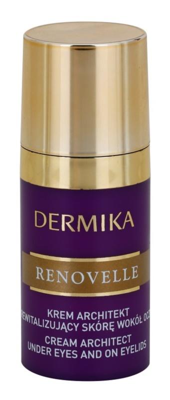 Dermika Renovelle 45+ revitalisierende Augencreme gegen Falten und dunkle Augenringe