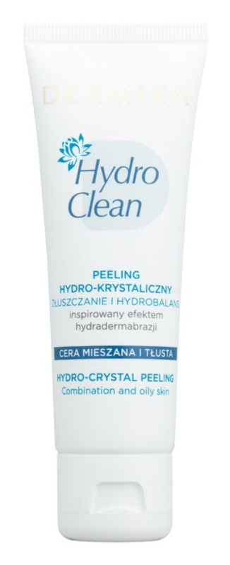 Dermika HydroClean hydro-krystalický peeling pro mastnou a smíšenou pleť