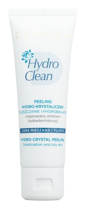 Dermika HydroClean peeling hidro-cristalino para pele oleosa e mista