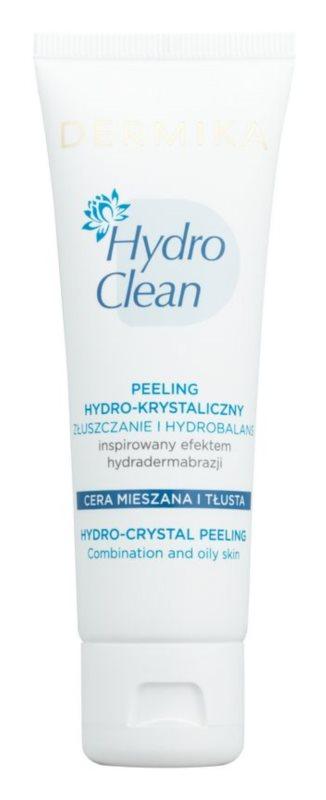 Dermika HydroClean Peeling mit Hydrokristallen für fettige und Mischhaut