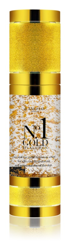 Di Angelo Cosmetics No1 Gold Hyaluron Serum for Immediate Glow and Rejuvenation