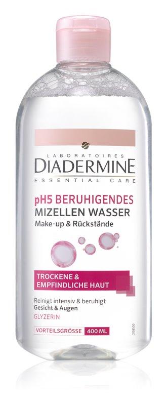 Diadermine pH5 pomirjajoča micelarna voda za občutljivo in suho kožo