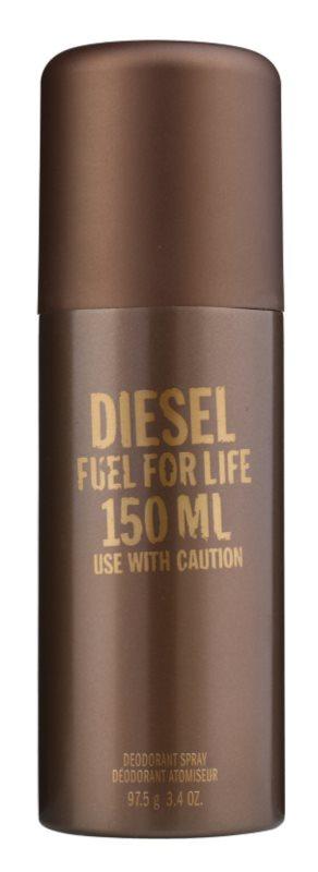 Diesel Fuel for Life Homme Deo-Spray für Herren 150 ml