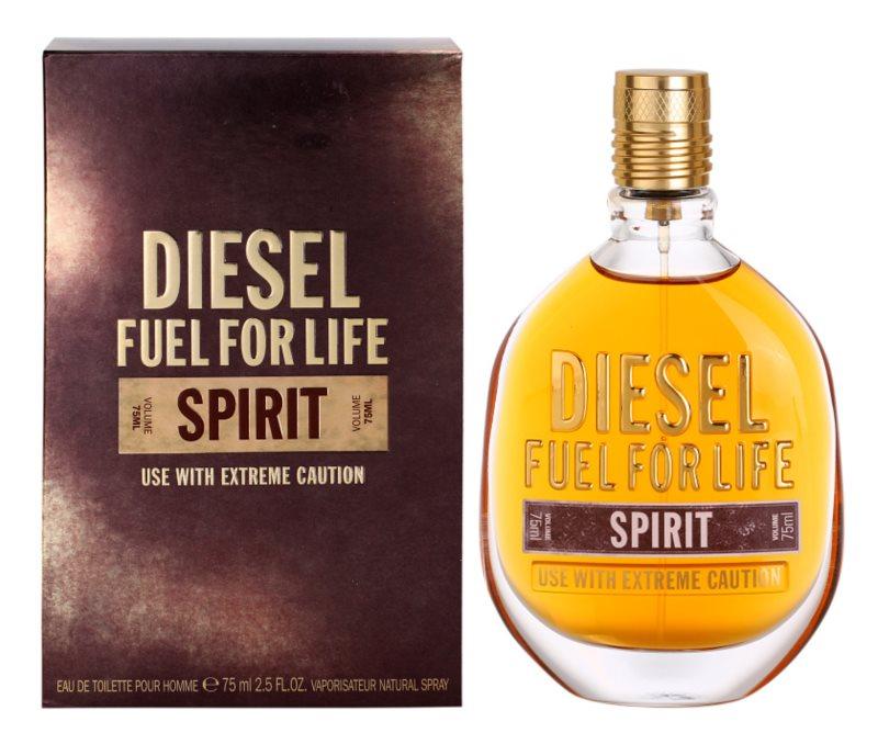 Diesel Fuel for Life Spirit eau de toilette pour homme 75 ml