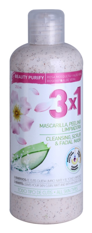 Diet Esthetic Beauty Purify Peeling Mask With Rosehip Oil