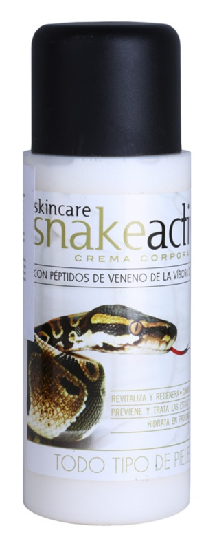 Diet Esthetic SnakeActive crema corporal con veneno de serpiente