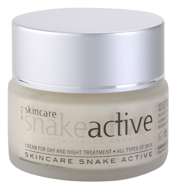 Diet Esthetic SnakeActive przeciwzmarszczkowy krem na dzień i na noc z jadem węża