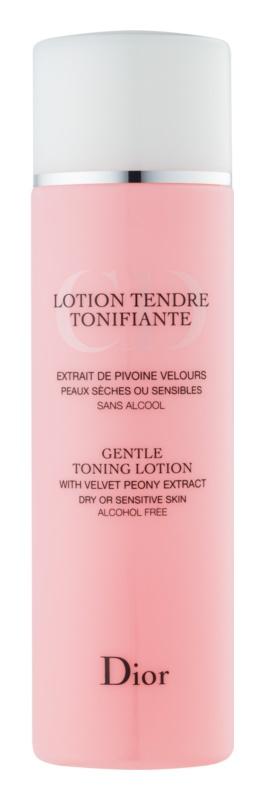 Dior Cleansers & Toners tonikum pro citlivou a suchou pleť