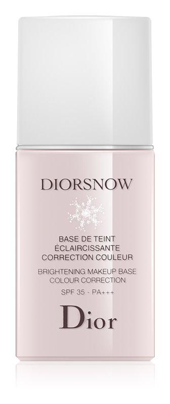 Dior Diorsnow posvetlitvena podlaga za pod tekoči puder SPF 35