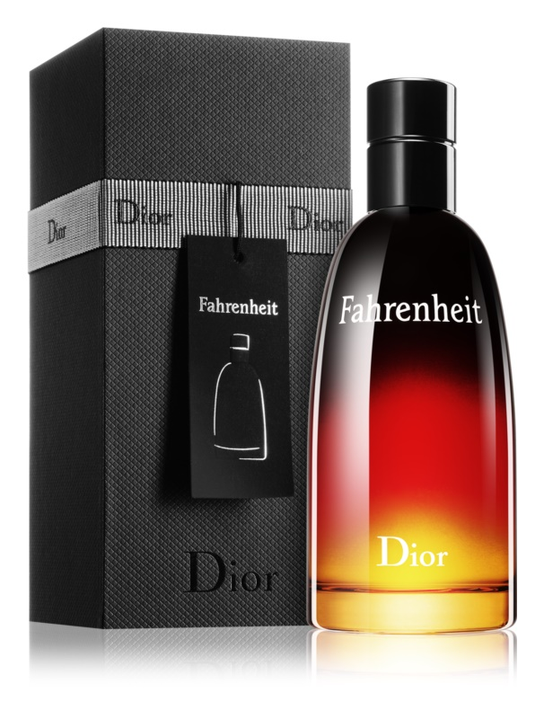 Dior Fahrenheit Eau de Toilette for Men 100 ml Black Gift Box