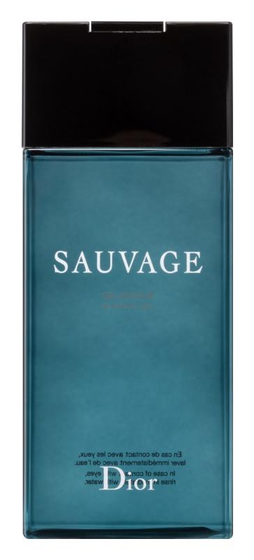 Dior Sauvage sprchový gel pro muže 200 ml