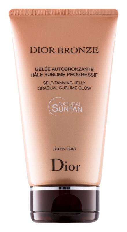 Dior Bronze Self Tan Gel For Body