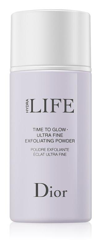 Dior Hydra Life Time To Glow čistilni puder s piling učinkom