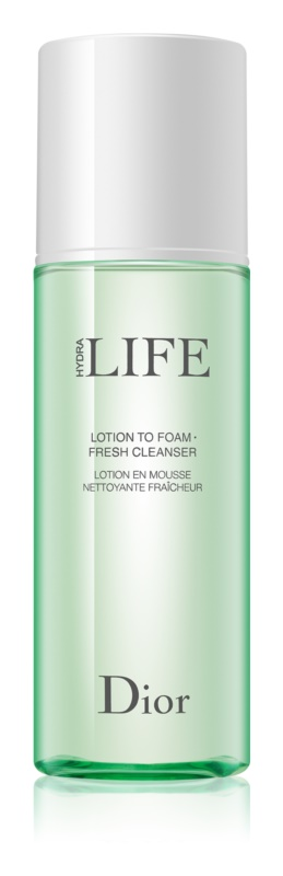 Dior Hydra Life Lotion to Foam Fresh Cleanser