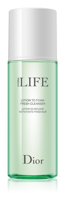 Dior Hydra Life Lotion To Foam osviežujúca čistiaca pena pre všetky typy pleti