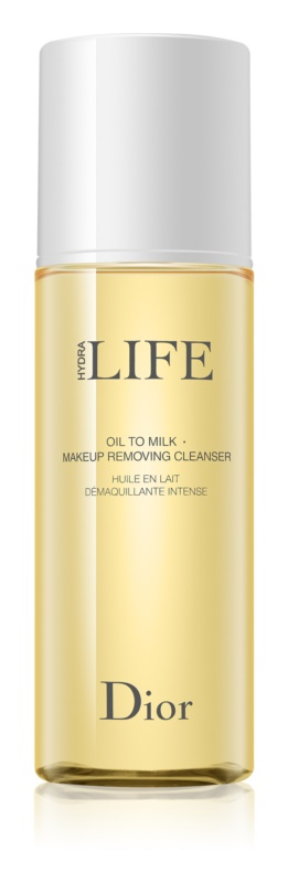 Dior Hydra Life Oil To Milk Makeup Removing Oil