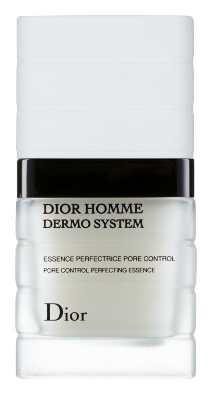 Dior Homme Dermo System matujúca pleťová esencia pre redukciu pórov