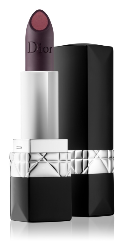 Dior Rouge Dior Double Rouge матова помада з ефектом металік