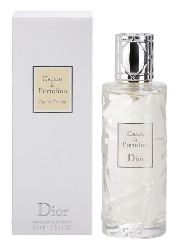 Dior Les Escales de Dior Escale a Portofino туалетна вода для жінок 75 мл