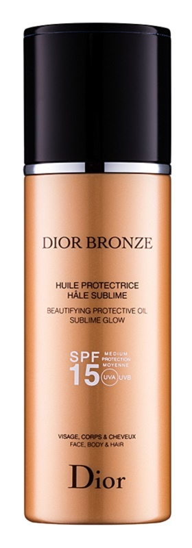 Dior Dior Bronze Beautifying Protective Milky Mist Sublime Glow SPF 15