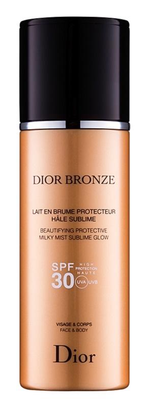 Dior Dior Bronze óleo de bronzear protetor e iluminador SPF30