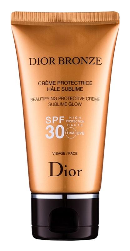 Dior Dior Bronze rozjasňujúci ochranný krém na opaľovanie SPF 30