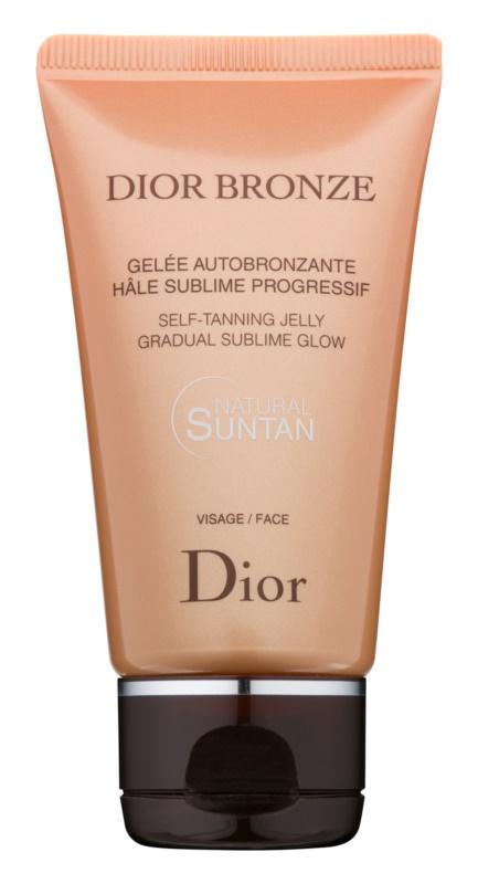 Dior Dior Bronze gel autobronzeador para rosto