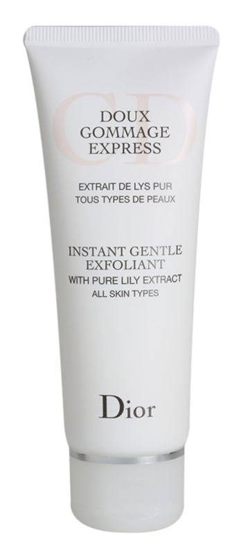 Dior Cleansers & Toners exfoliante limpiador para todo tipo de pieles
