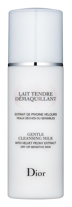 Dior Cleansers & Toners tisztító tej az érzékeny száraz bőrre