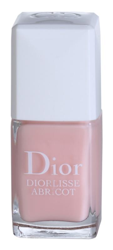 Dior Diorlisse Abricot posilující lak na nehty