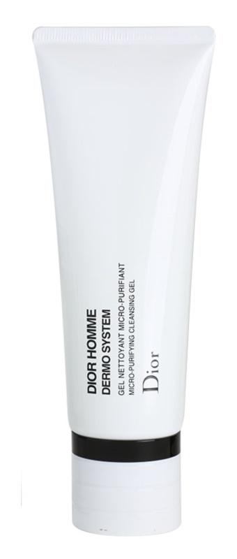 Dior Homme Dermo System čistiaci gél