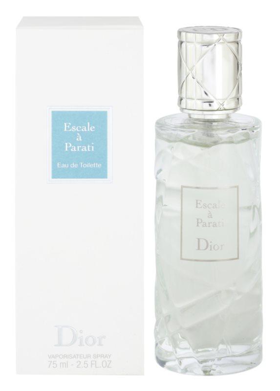 Dior Les Escales de Dior Escale a Parati Eau de Toilette unisex 75 ml