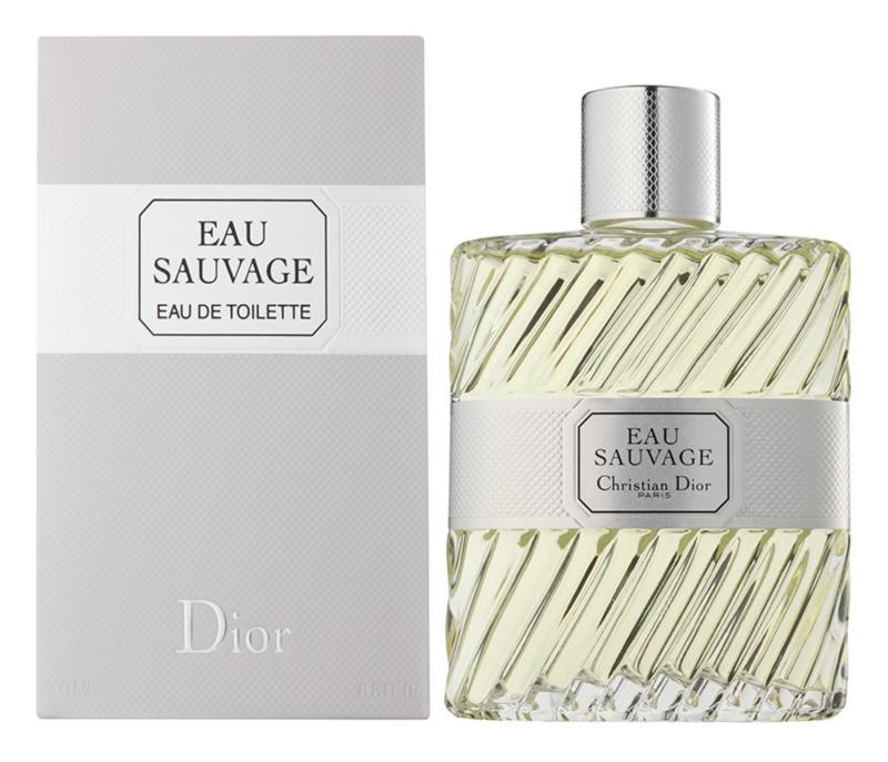 Dior Eau Sauvage eau de toilette férfiaknak 200 ml szórófej nélkül