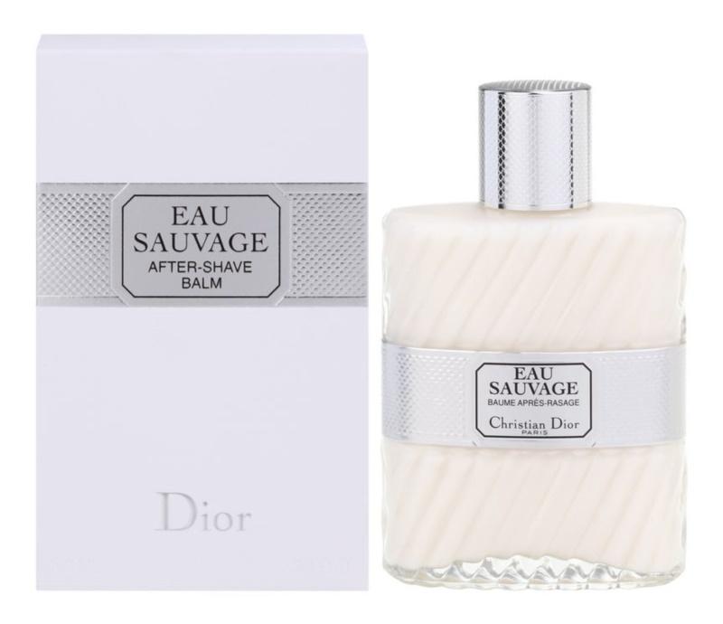 Dior Eau Sauvage balzám po holení pre mužov 100 ml