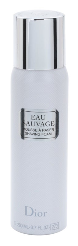 Dior Eau Sauvage borotválkozó hab férfiaknak 200 ml