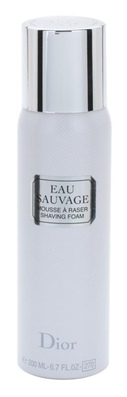 Dior Eau Sauvage pianka do golenia dla mężczyzn 200 ml