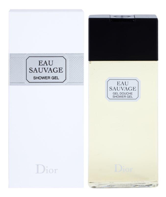 Dior Eau Sauvage sprchový gel pro muže 200 ml