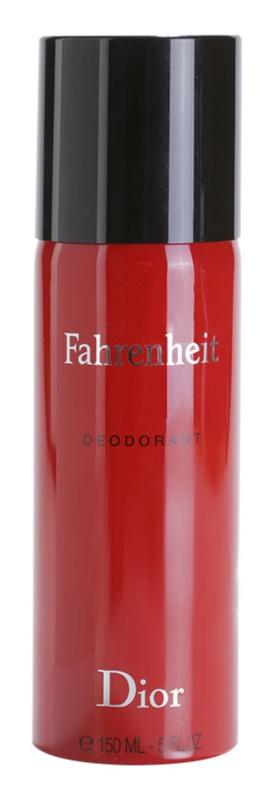 Dior Fahrenheit deospray pro muže 150 ml