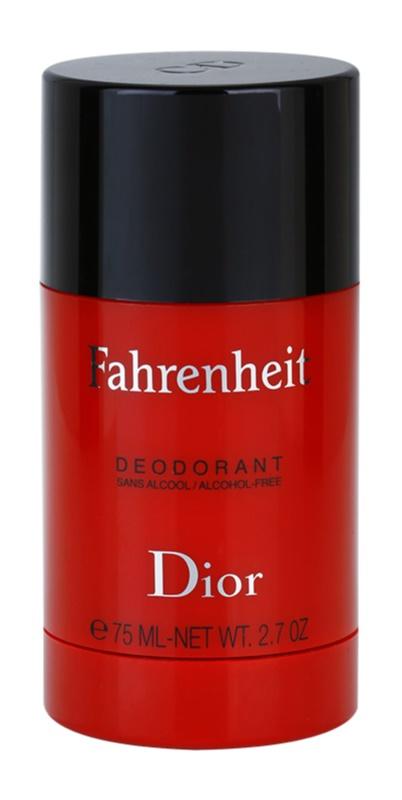 Dior Fahrenheit deo-stik za moške 75 ml