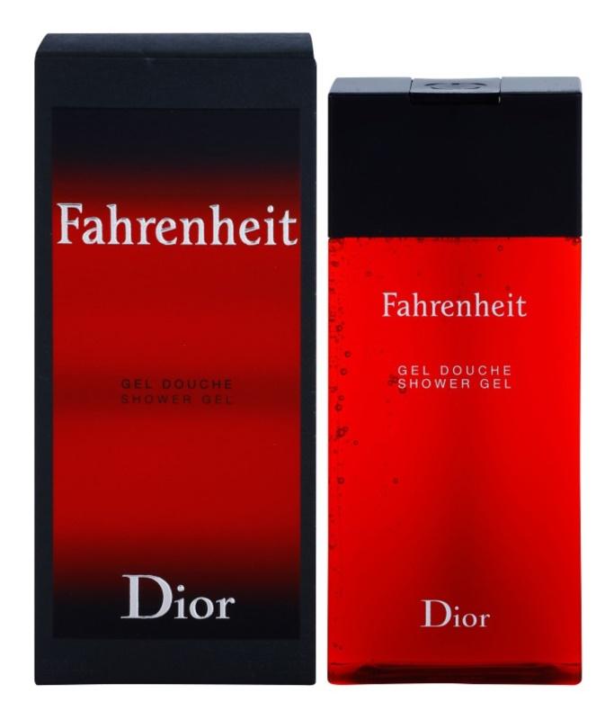 Dior Fahrenheit gel de dus pentru barbati 200 ml