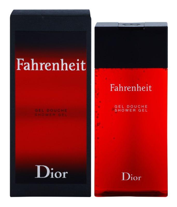 Dior Fahrenheit gel za prhanje za moške 200 ml