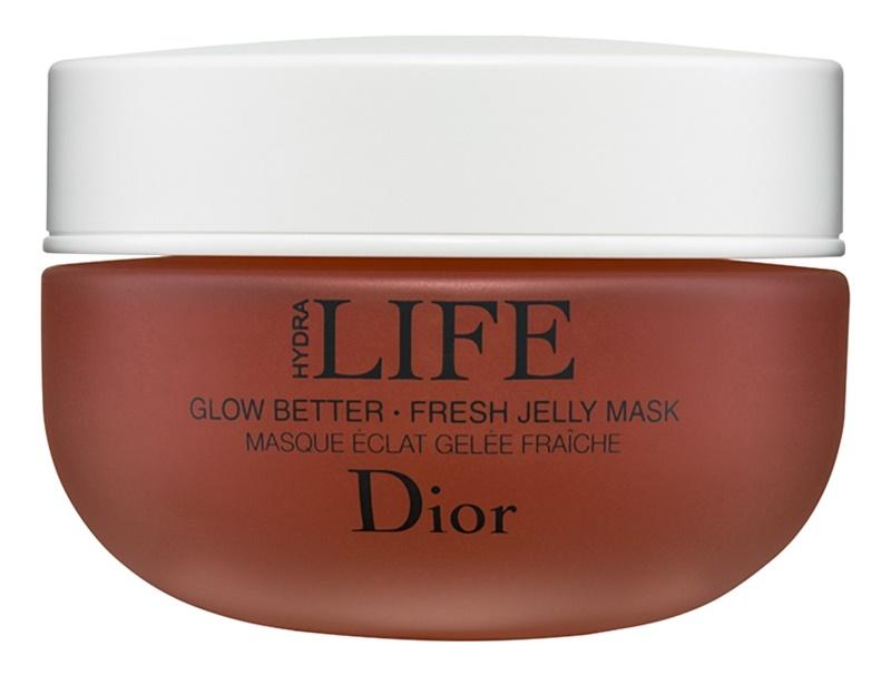 Dior Hydra Life Glow Better rozjasňující maska pro všechny typy pleti